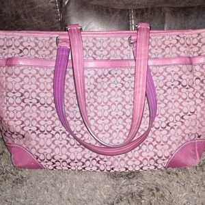 Coach Diaper Bag + Laptop